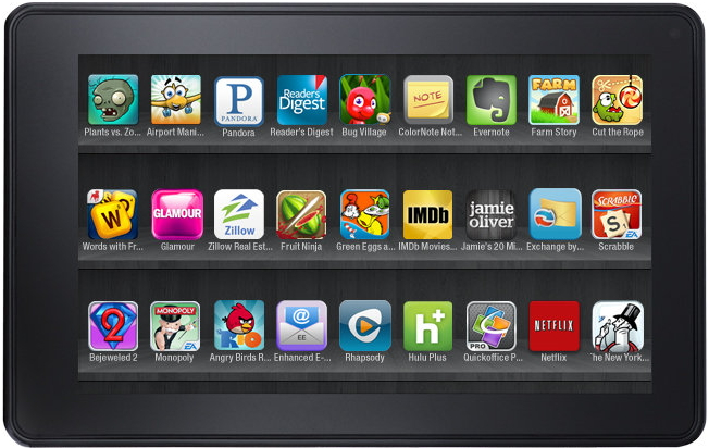 Free Games to play on you Kindle Fire tablet