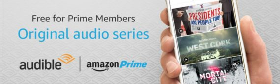 Amazon prime members now get free audible content