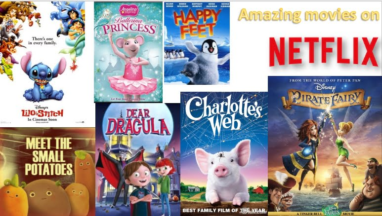 movies for your Kids on Netflix