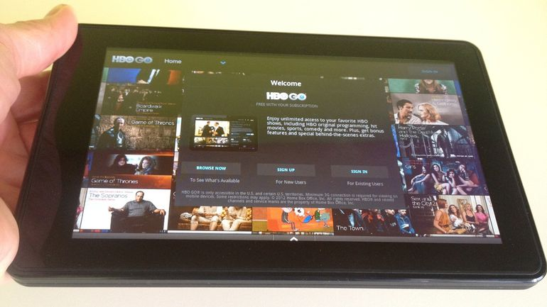 hbo on kindle tablet