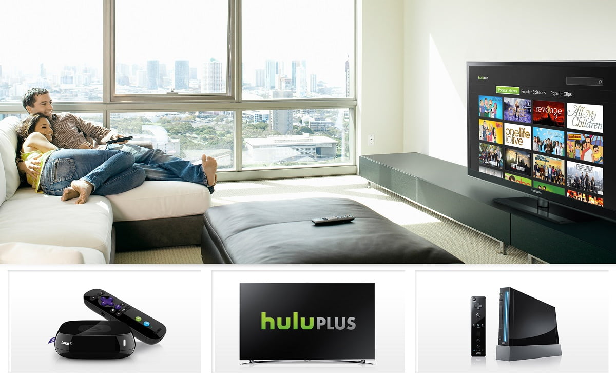 How To Watch Movies And Shows Through Hulu Plus On Big Screen?