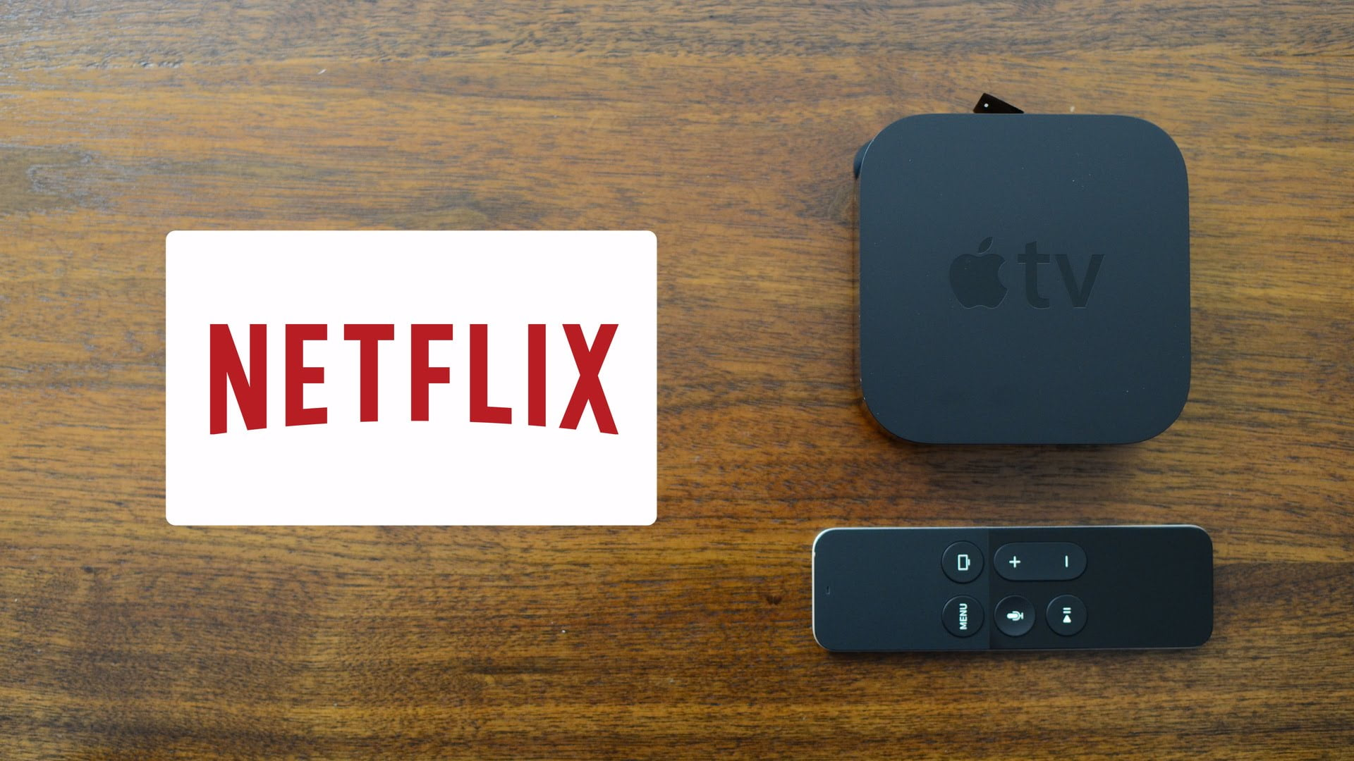 Netflix-Apple Tv 4