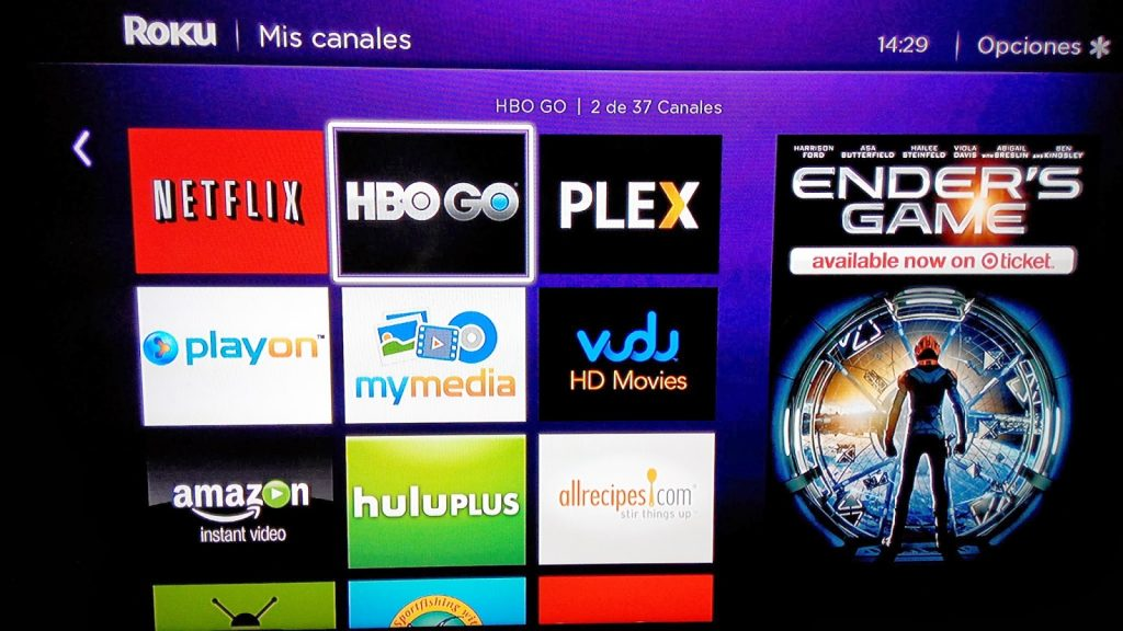 HBO GO with roku